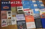 Prodám knihy oprav, katalogy ND na Fiat 500-131Mirafiori